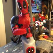Resin Deadpool bust